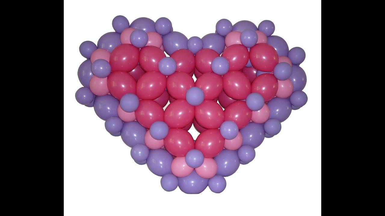 How to make a balloon heart using qualatex quick link - How to make heart balloon ...
