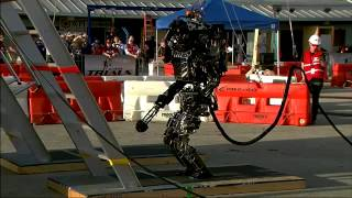 Robot highlight footage from DARPA