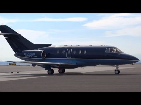 Hawker Beechcraft - Hawker 800 - Engine Start and Taxi