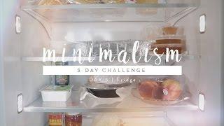 Minimalism Challenge Day 5: Fridge | #5DaystoMinimalism