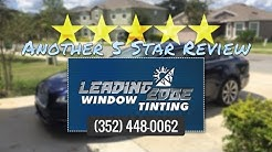 Leading Edge Window Tinting Clermont Excellent 5 Star Review by Katie B.