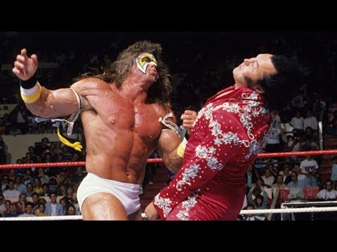 Ultimate Warrior vs. Honky Tonk Man: SummerSlam 1988 - Intercontinental Championship Match thumbnail