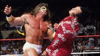 Ultimate Warrior vs. Honky Tonk Man: SummerSlam 1988 - Intercontinental Championship Match