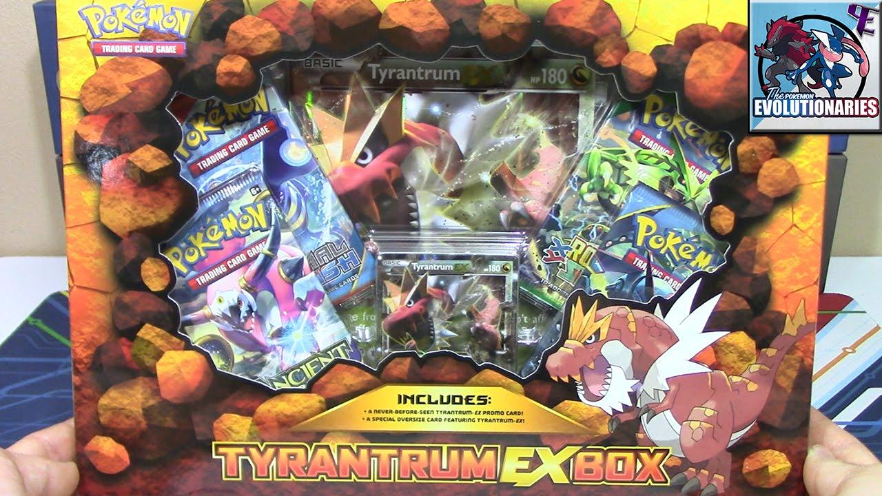 Pokemon Cards Tyrantrum Ex Box Opening Battle Vs Timlpokemon
