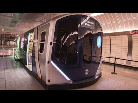 MTA subway cars: Sneak peak at future train models