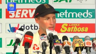 2nd Test : Day 5 Post Match Media Conference - England tour of Sri Lanka 2018