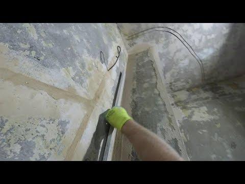 Как выровнять внутренний угол стены