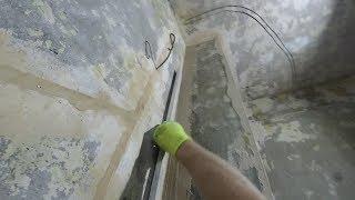 как сделать внутренний угол стены