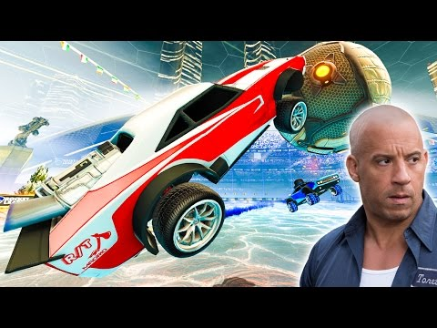 NEW ROCKET LEAGUE CAR WILL BRING OUT YOUR INNER VIN DIESEL