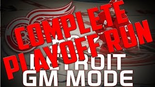 "NHL 14: Detroit Red Wings GM Mode #37 "" Most Epic Playoffs..Ever"""