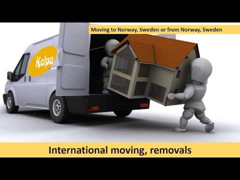 Moving, relocation, cargo and parcel transport services between Norway, Sweden, Latvia and Lithuania