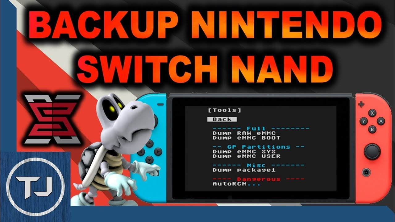 Switch NAND Backup!