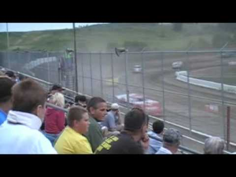 Muskingum Speedway Team GLR Heat Part 2/2 7/13/2012