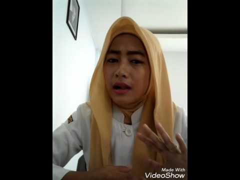 Tutorial hijab segiempat cantik