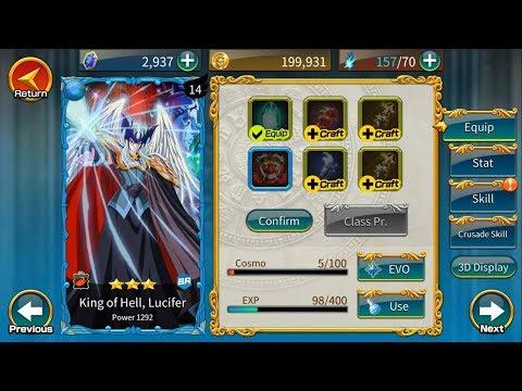 Guía Saint Seiya Zodiac Brave ; King Of Hell, Lucifer