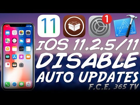 iOS 11.2.5/11.0 Disable Automatic iOS Update (For Jailbreak)