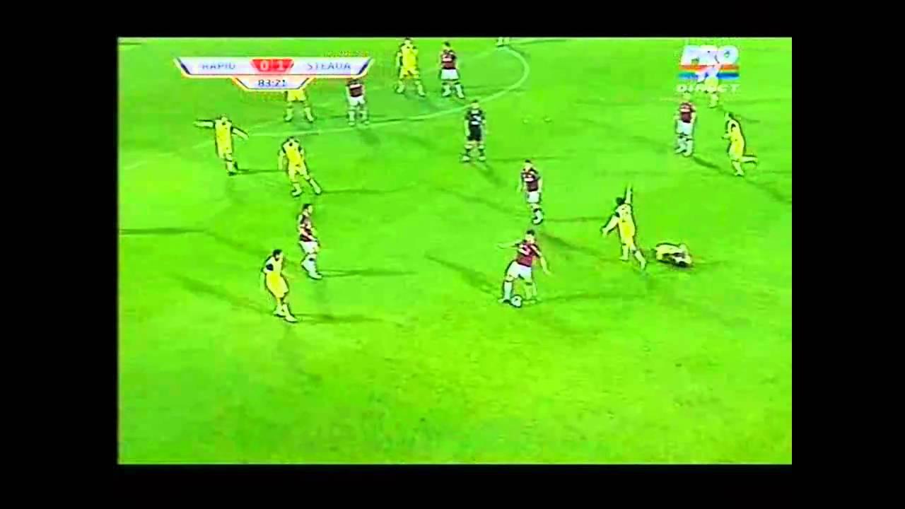 Cupa Romaniei Rapid-steaua 0-1  11 noi. 2010