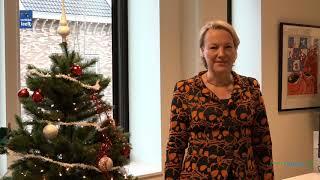 Kerstgroet Erica van Lente, burgemeester van de gemeente Dalfsen
