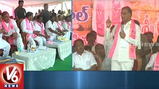Minister Harish Rao Launches Third Phase Of Mission Kakatiya Works In Wanaparthy District | V6 News