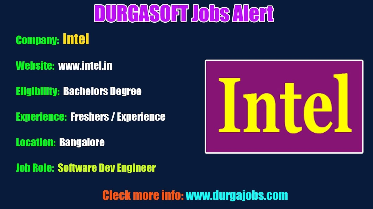 DURGASOFT Jobs Alerts || Jobs for Experienced and Freshers !!! (14-08-2019)