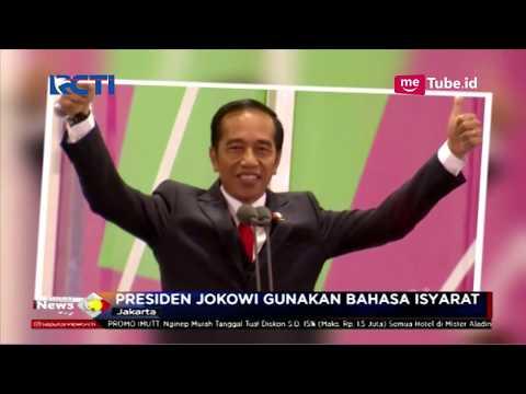 WAH! Presiden Jokowi Memanah & Gunakan Bahasa Isyarat Di Opening Asian Para Games - SIP 07/10