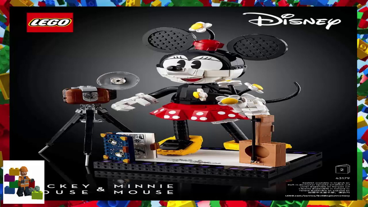LEGO instructions - Disney - 43179 -  Mickey Mouse and Minnie Mouse (Book 2)