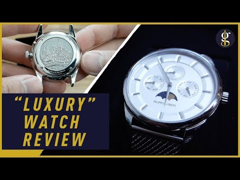 Filippo Loreti Review | Silver Venice Moonphase | Luxury Watch Unboxing 2018