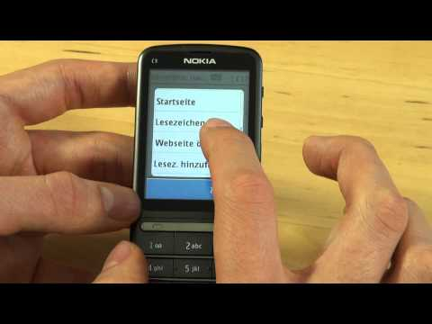 Nokia C3 Touch and Type Test Internet
