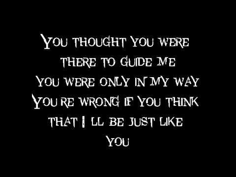 Just Like You (Lyrics)- Three Days Grace