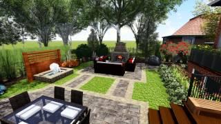Proland Landscape Design Concept Small Backyard