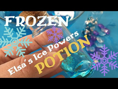 How To Get Ice Powers Like Elsa From FROZEN | Magic Ice Powers Potion