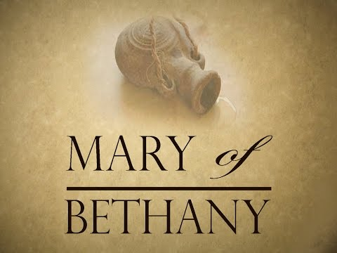 "Mary of Bethany - ""Encountering Jesus"""