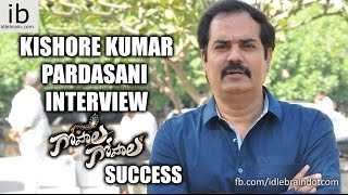 Kishore Kumar Pardasani interview about Gopala Gopala success - idlebrain.com