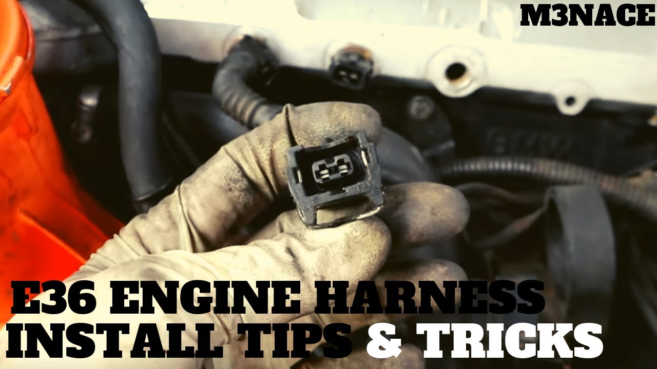 m52 engine diagram m50 m52 engine harness install tips and tricks youtube  m50 m52 engine harness install tips and