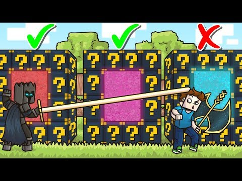 DO NOT Choose The WRONG ASTRAL LUCKY BLOCK PORTAL in Minecraft! - Lucky Block Portal Mini-Game
