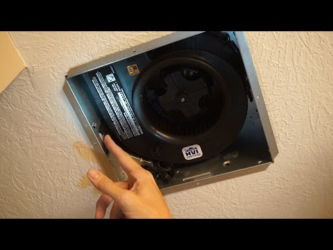 Upgrade Bathroom Fan - Reduce Shower Moisture