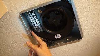 Upgrade Bathroom Fan  Reduce Shower Moisture
