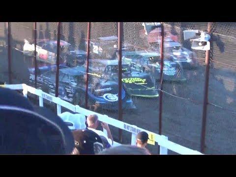 Lucas Oil Late Model Heat Races @ Macon Speedway 2017