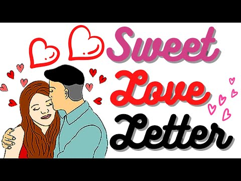 I Love You So Much 💋 Love Letter For Girlfriend 💘 Best Romantic Love Letter 💌 ( Sweet SMS ) My Bee