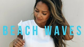 Everyday Beach Waves Hair Tutorial
