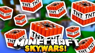 "Minecraft NEW SKY WARS! ""THROWING TNT!"" #2 w/ PrestonPlayz & Kenny"