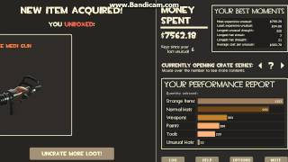tf2 : what you get if you spend $15,000 (tf2 crate simulator) unusual edition