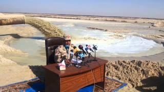 اللواء كامل الوزير: من المستحيل أنهيار أحواض الترسيب فى القناة