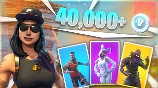 40,000+ V-Bucks Worth Of Skins, Full Locker and SENSITIVITY SETTINGS | Fortnite PS4 Pro