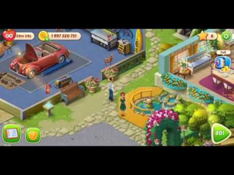 Homescapes Level 800 And Restoration Of The House