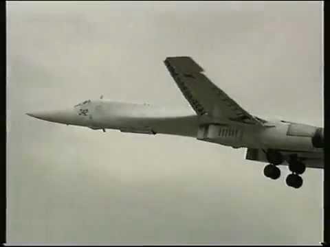 Tupolev Tu-160 Blackjack Jet Bombers