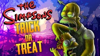 The Simpsons Zombie Trick Or Treat Call of Duty Zombies