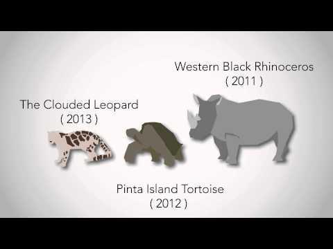 Biodiversity loss/extinction rates