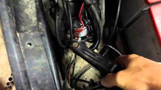 ezgo golf cart help solenoid issue