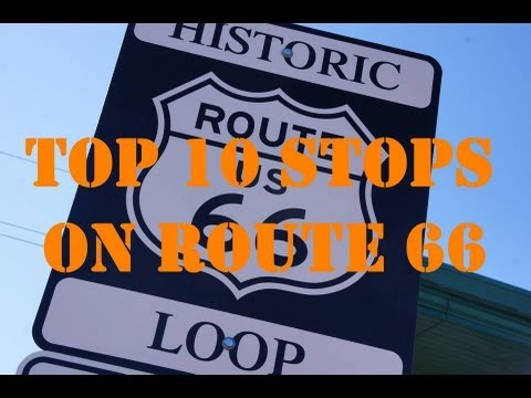 Top Stops On Route Visit America YouTube - Route 66 youtube